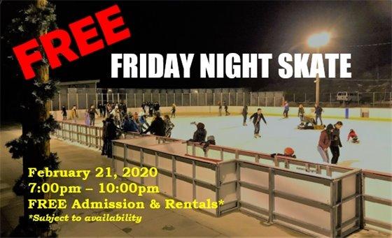 Free Friday Night Skate - February 21