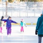 Skating Lesson Photo