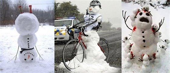 Creative Snowman Images