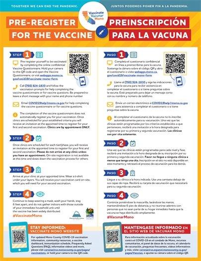 Pre-Register for COVID Vaccine