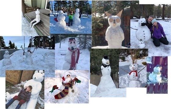 Snowman Competition Entries