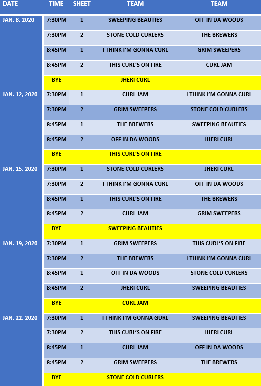 Curling Schedule - Web Image 1