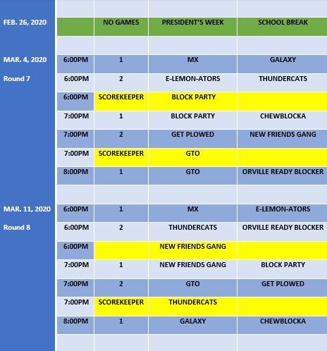 Schedule - Web Image 5