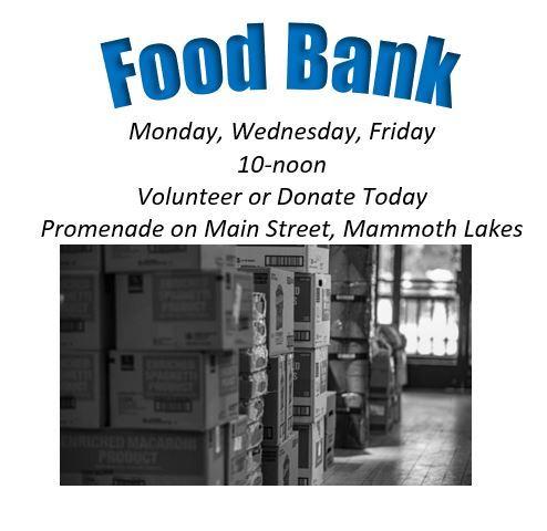 Visit Mammoth Food Bank