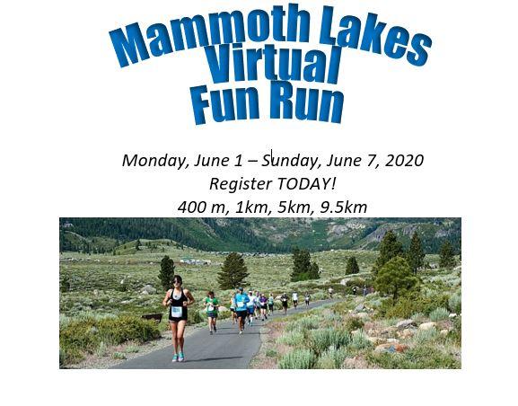 Mammoth Lakes Virtual Fun Run