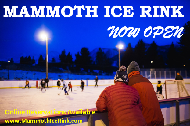 Mammoth Ice Rink NOW OPEN