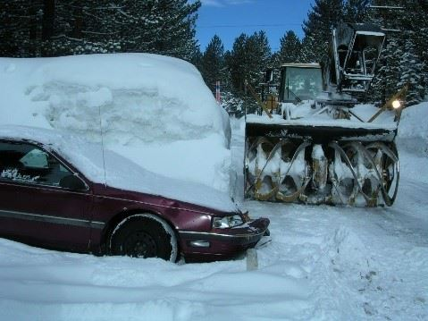 Parking in winter