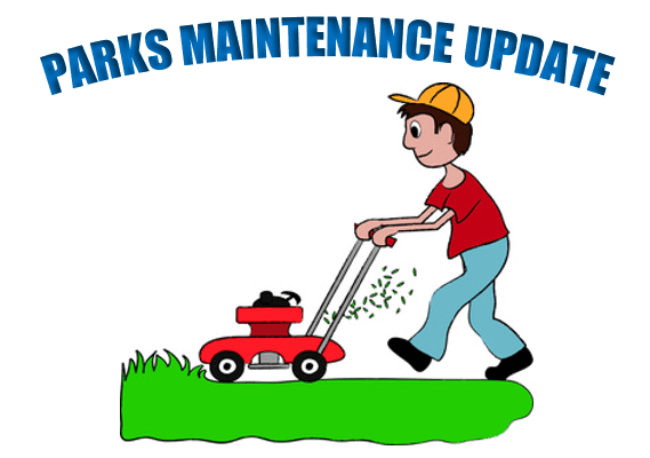 Parks Maintenance Update Graphic